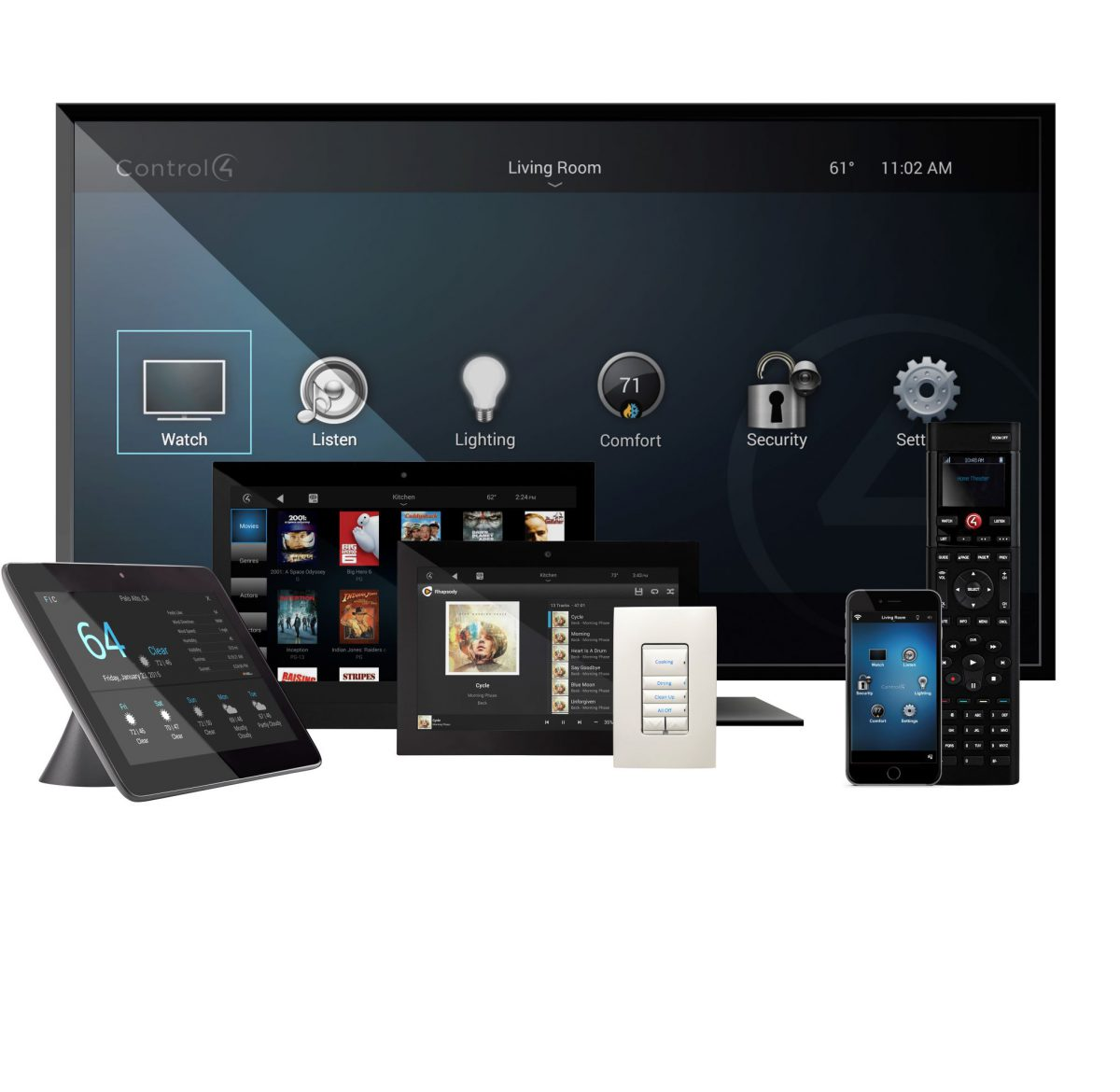 Control4 Smart Home Solutions