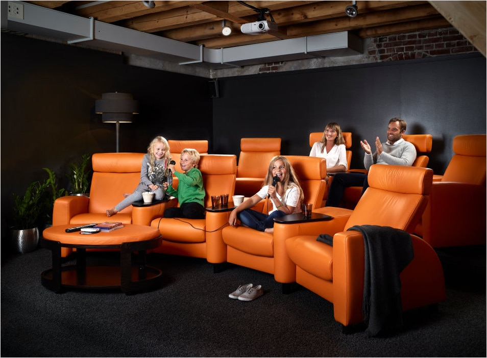 Home Theater Seating to fit any decor and budget.