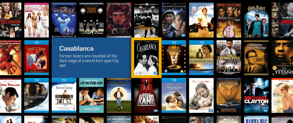 Enjoy your favorite music and movies, anywhere.