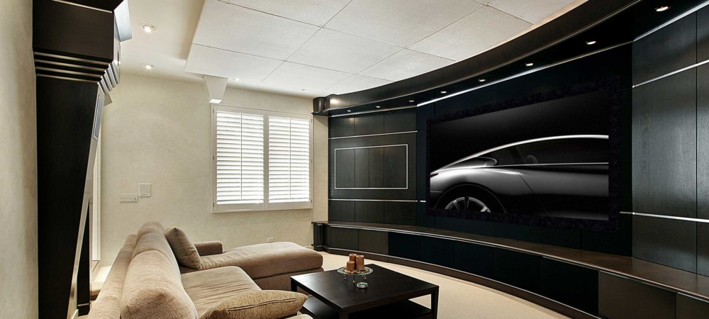 Media Rooms make any room a Home Theater.
