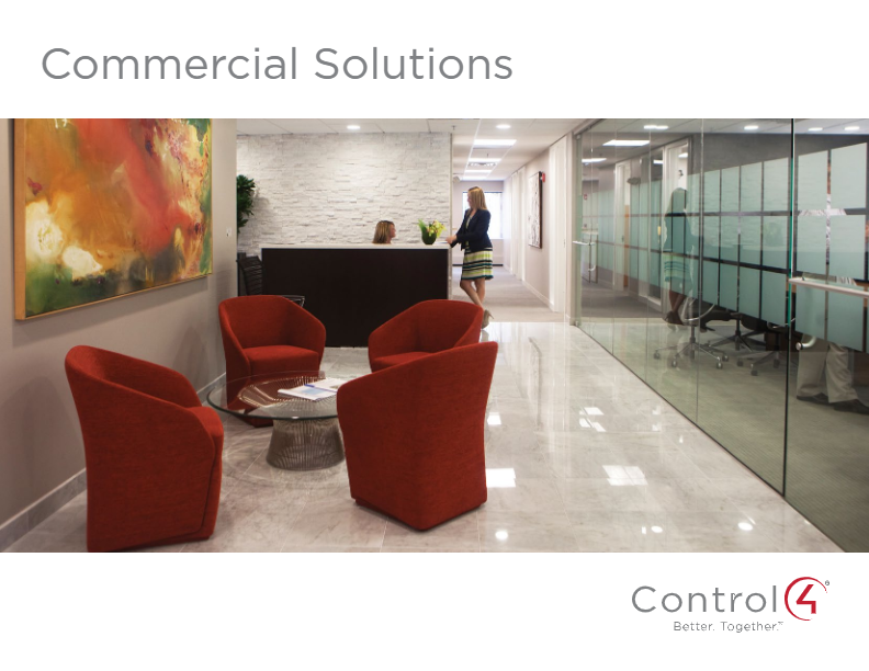 Control4 Commercial Solutions Brochure