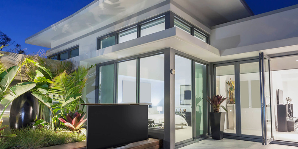 Outdoor Out of Floor TV Lift
