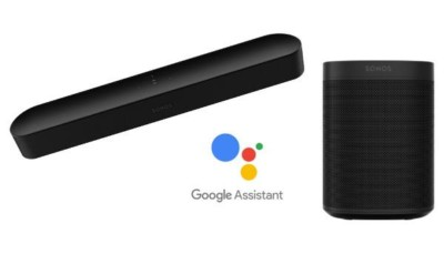 Sonos now compatible with Google Assistant Voice Control