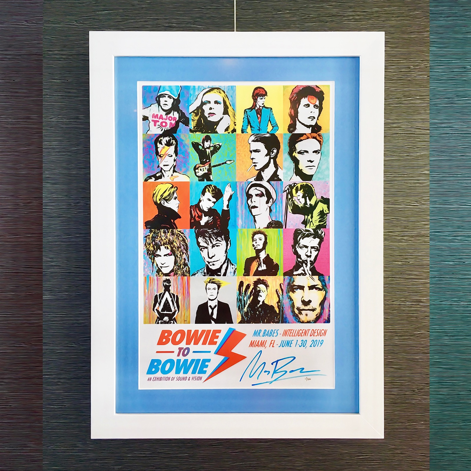 Bowie To Bowie Show Poster