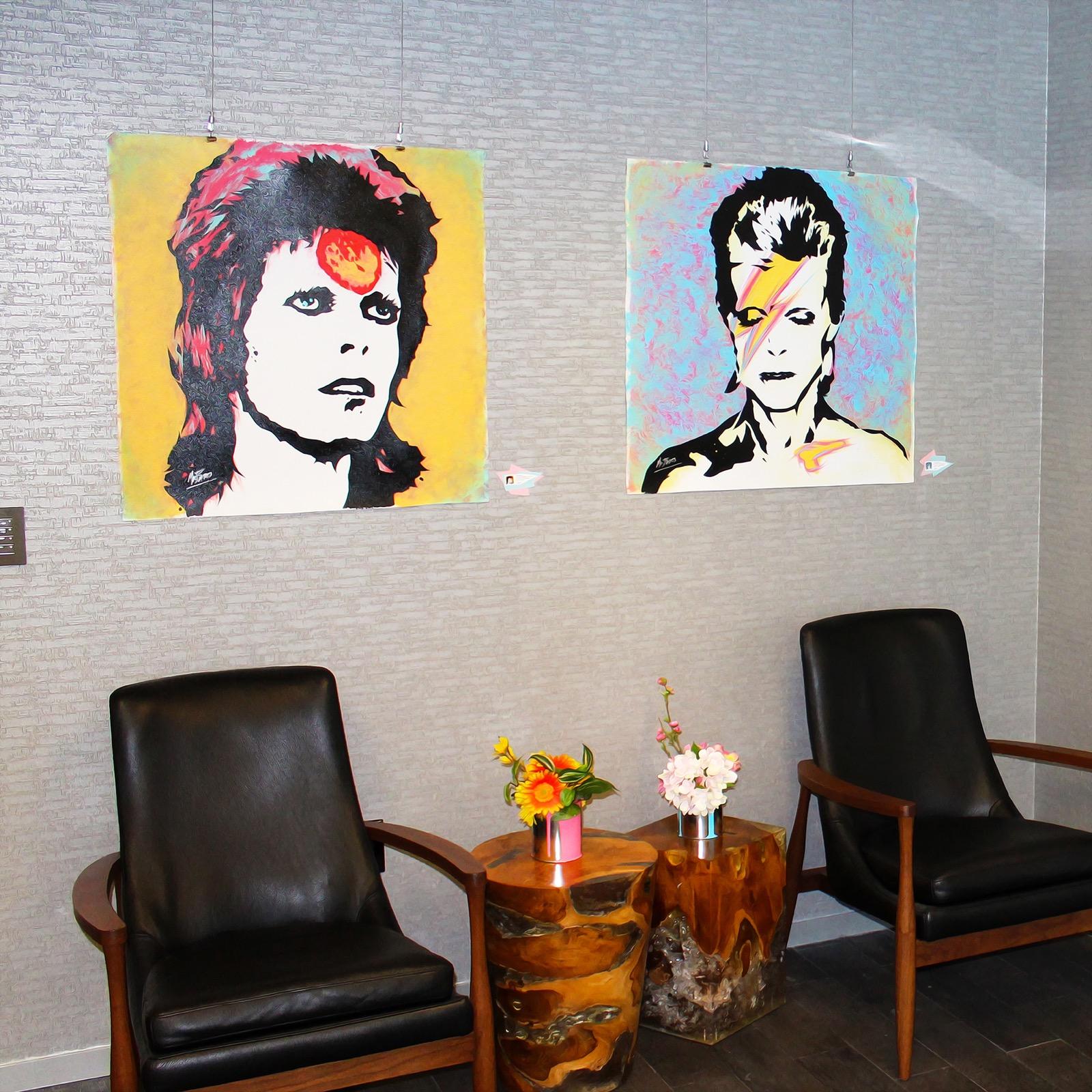 David Bowie Pop Art Miami