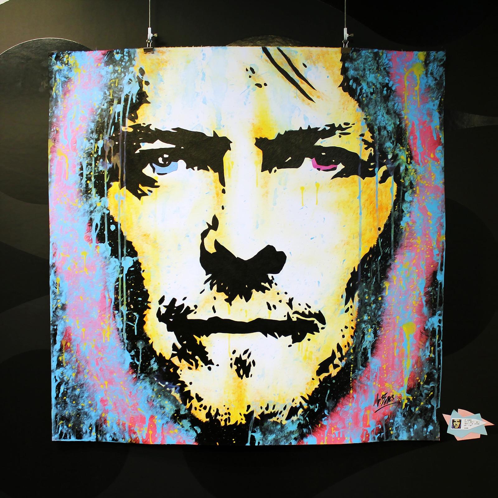90's David Bowie Pop Art Miami