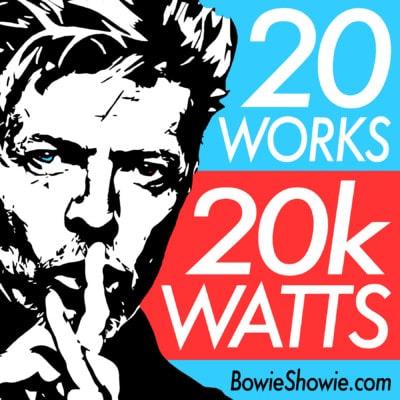 David Bowie Art Exhibition in Miami