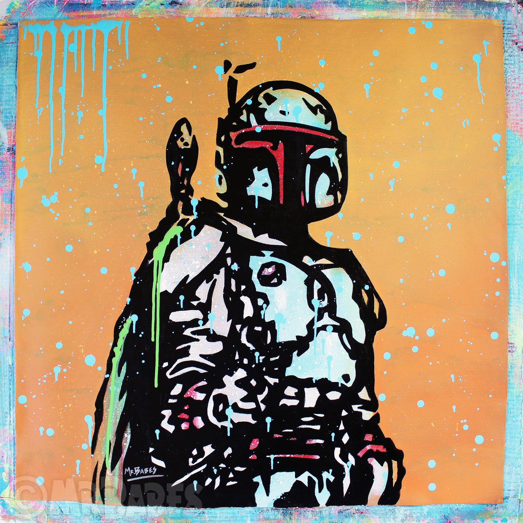 Pop Art Boba Fett