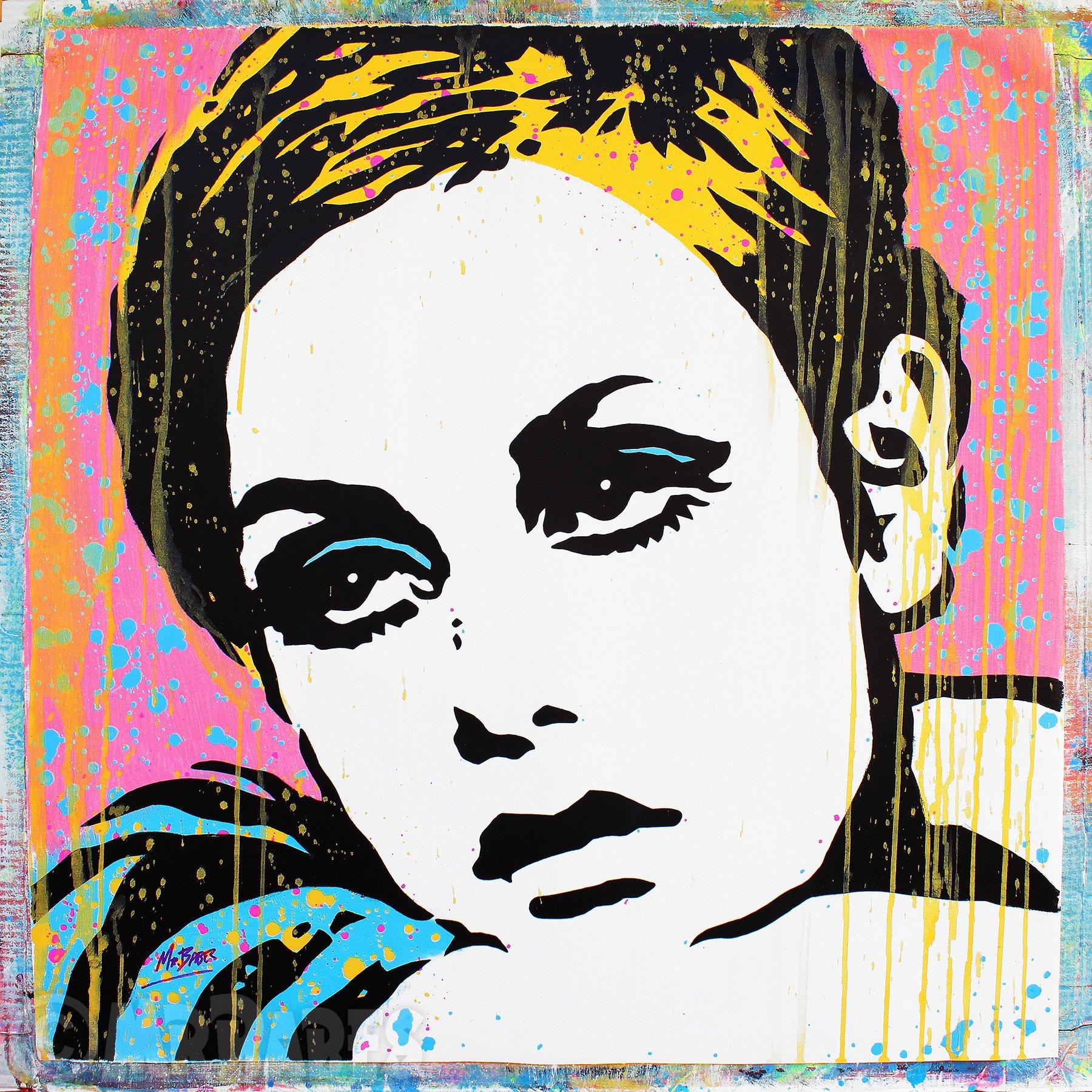 Pop Art Twiggy