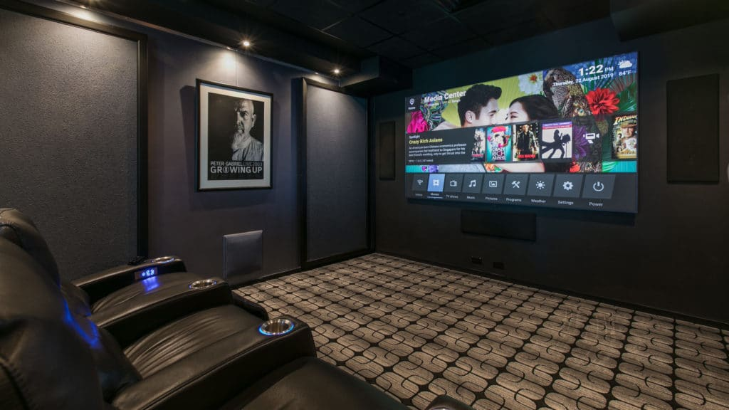 ID Showroom Dedicated Theater Room