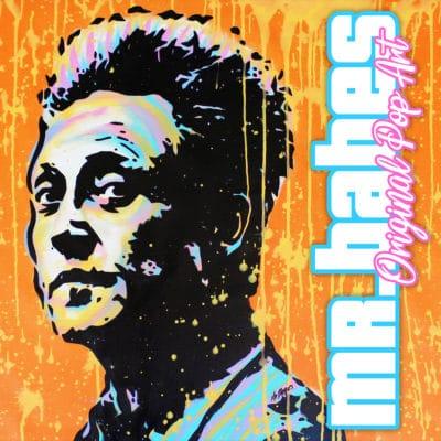 Christopher Walken Pop Art