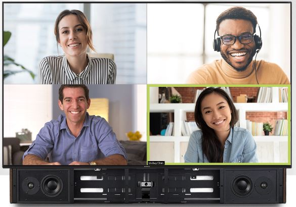 Leon Speakers HIFIT for Video Conference Without Grille