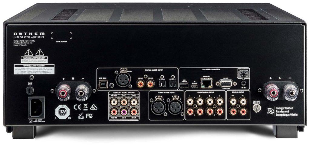 Anthem STR Integrated Amplifier Rear