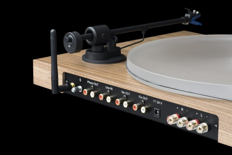 Pro-ject juke box s2 turntable rear