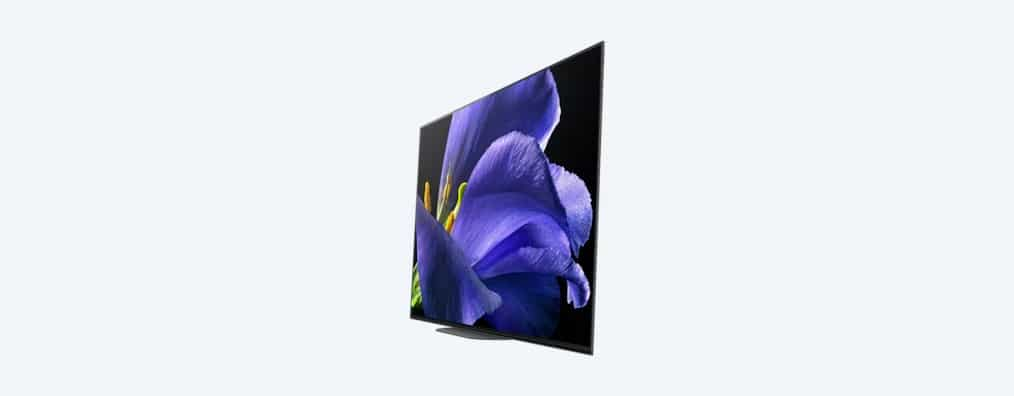 Sony Master Series OLED 4K Ultra HD TV Sideview