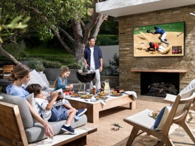 The New Samsung 4K Outdoor TV