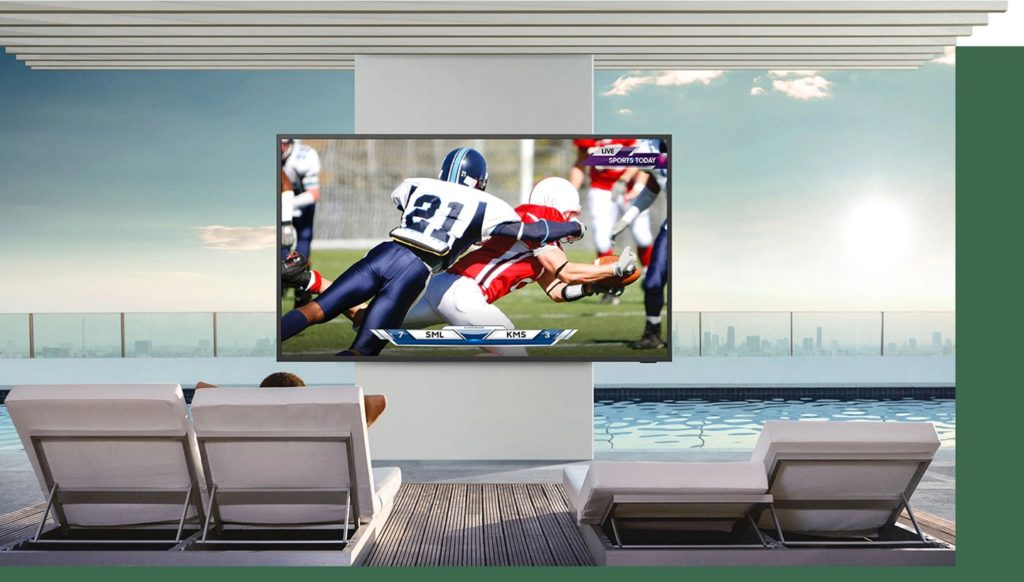 Samsung Outdoor Terrace TV