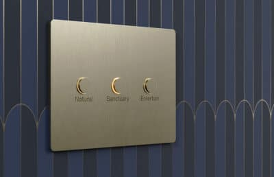 Lutrons New Alisse Wall Controls_Three Button
