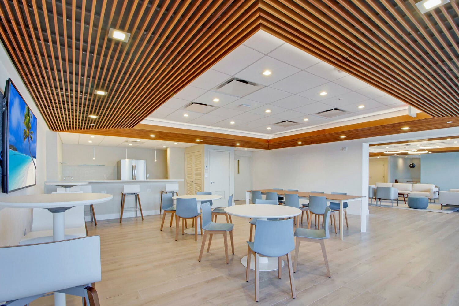 Intelligent Design Sunset Harbour Amenity Spaces Cafe Room