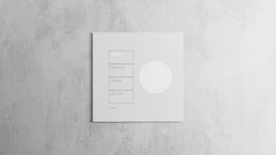 Intelligent Design Lutron Josh.ai Ready Wallplate