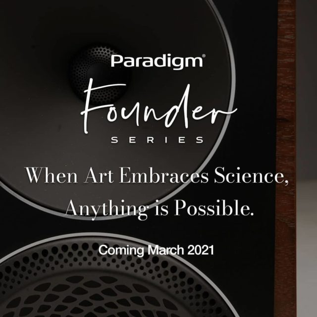 Coming soon to the Intelligent Design showroom. #paradigmspeakers #artembracesscience