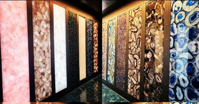 Picking out stone for the new showroom today at Marble Of The World. Gorgeous!